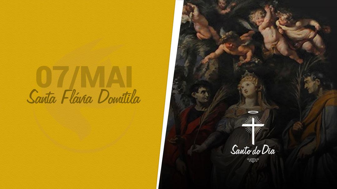 Santa Flávia Domitila
