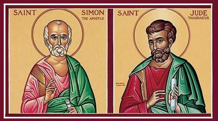 Santo do Dia - São Simão e São Judas
