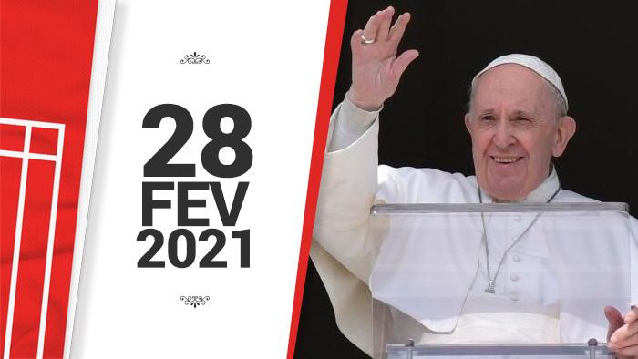 Papa no Angelus 28/02/2021
