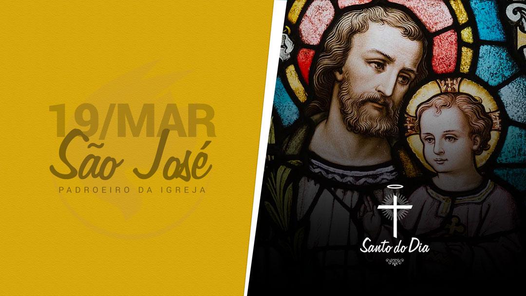 São José, esposo da Virgem Maria e Pai adotivo de Jesus