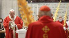 Papa no Angelus - Missa de Ramos (imagem: Vatican News)