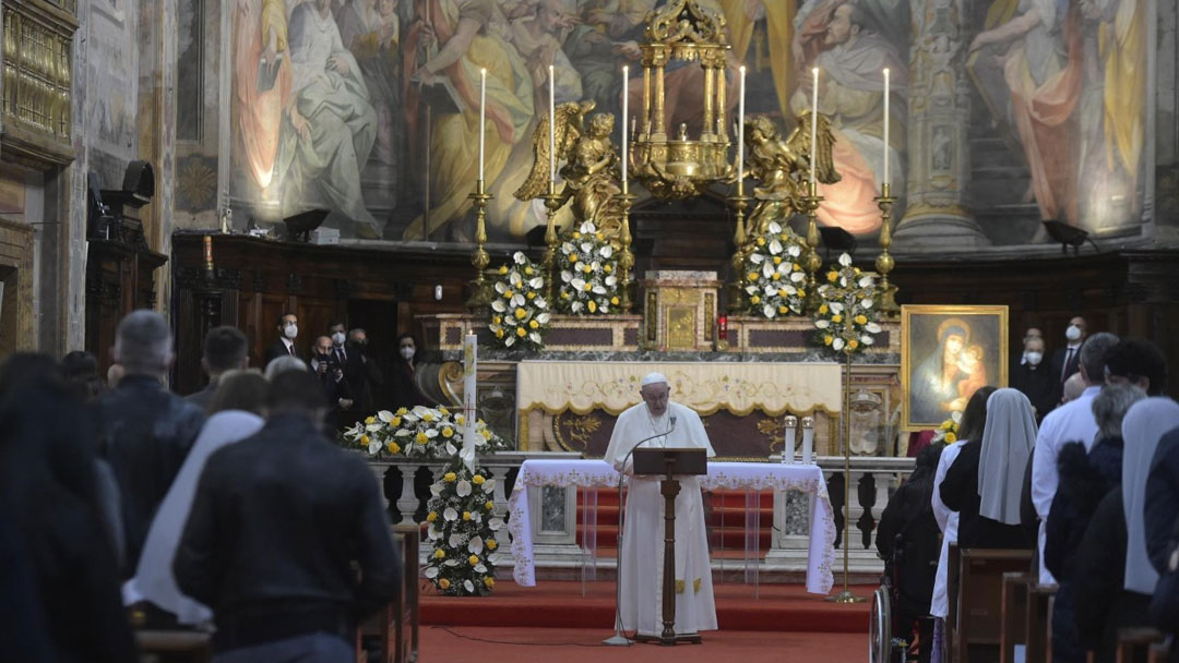 Papa Francisco no Domingo da Misericórdia