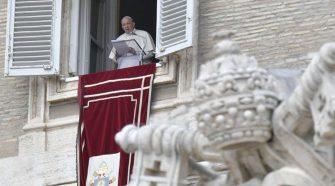 Papa Francisco no Regina Coeli 18/04/2021 (imagem: Vatican Media)