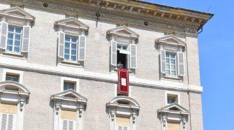 Papa Francisco no Regina Coeli 18/04/2021 (imagem: Vatican News)