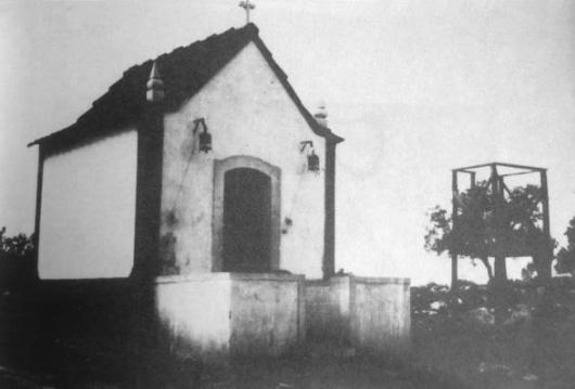 Primeira capela, construída em 1919