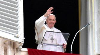 Papa no Angelus de 06/06/2021 (imagem: Vatican News)