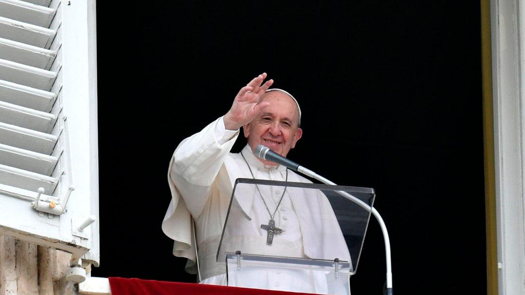 Papa no Angelus de 20/06/2021 (imagem: Vatican News)