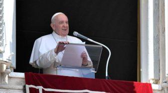 Papa no Angelus de 27/06/2021 (imagem: Vatican News)