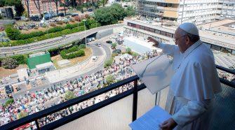 Papa no Angelus de 11/07/2021 (imagem: Vatican News)