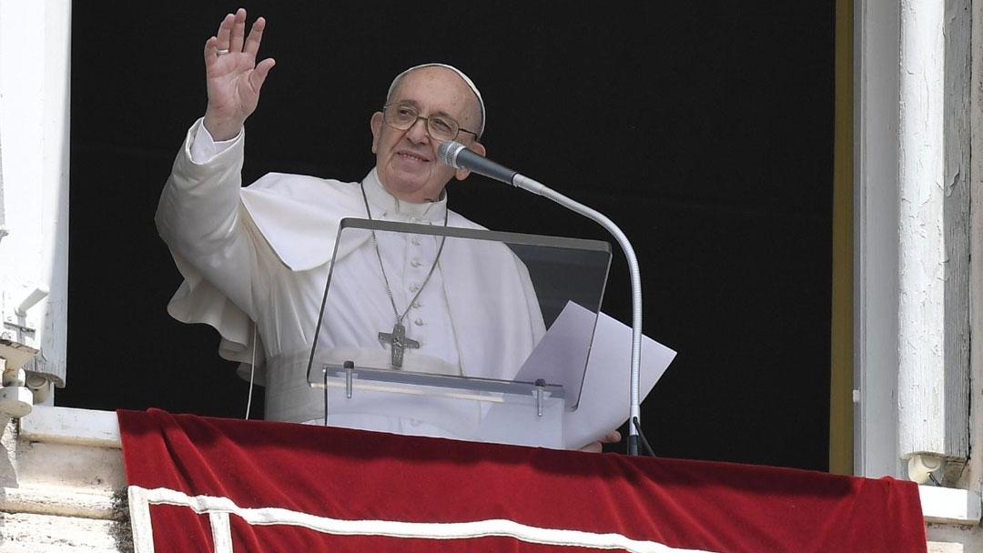 Papa no Angelus de 01/08/2021 (imagem: Vatican News)
