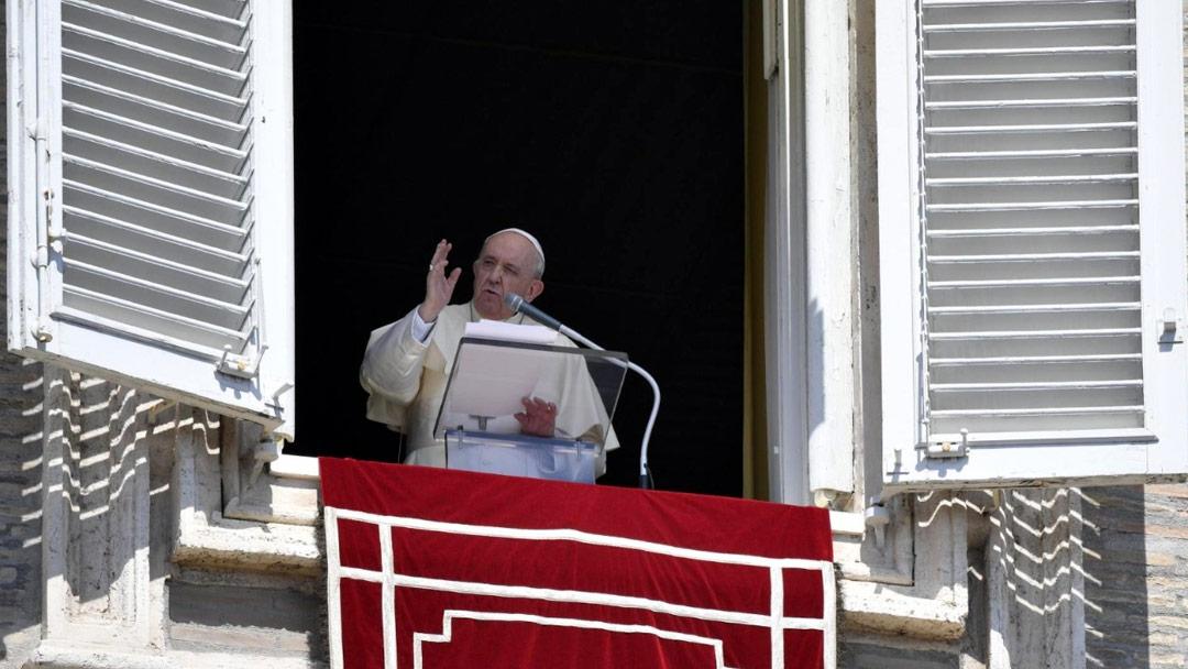 Papa no Angelus de 05/09/2021 (Imagem: Vatican News)