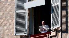 Papa Francisco no Angelus de 24/10/2021 (Imagem: Vatican News)